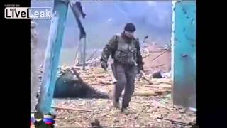 Exclusive footage from Chechnya