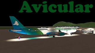 ROBLOX | Avicular A321 Flight