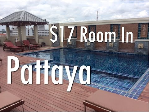 My $17 Room In Pattaya, Thailand – D Apartments.