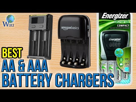 10 Best AA & AAA Battery Chargers 2017