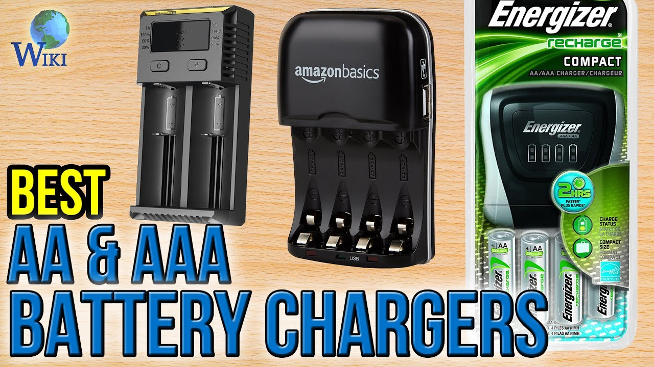 10 Best Aa Aaa Battery Chargers 2017 Youtube