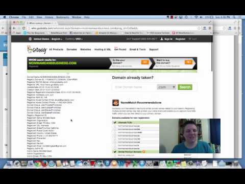 Your Domain Name & the Whois Database