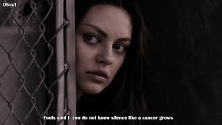 The Sound Of Silence - Disturbed - Lyrics - Vocals only