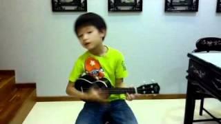 Chai Shaun-En plays Ukulele - Tian Mi Mi