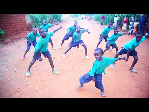 African Kids Dancing Afro Beat  By Kanazi Talent (Official Dance Video)