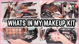 WHATS IN MY FREELANCE MAKEUP KIT 2018 🎒 JASMINE HAND