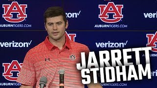 Auburn QB Jarrett Stidham discusses future, Liberty game