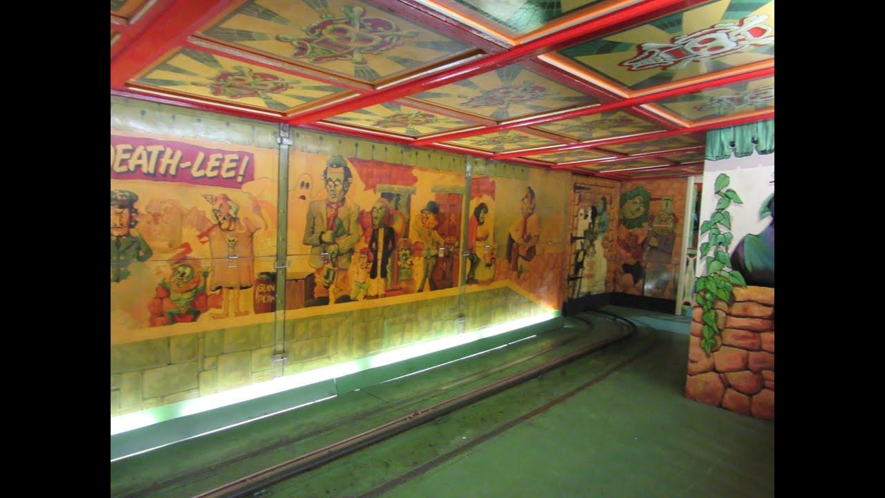 Ghost Train Vintage Funfair Wales On Ride Pov 1080p