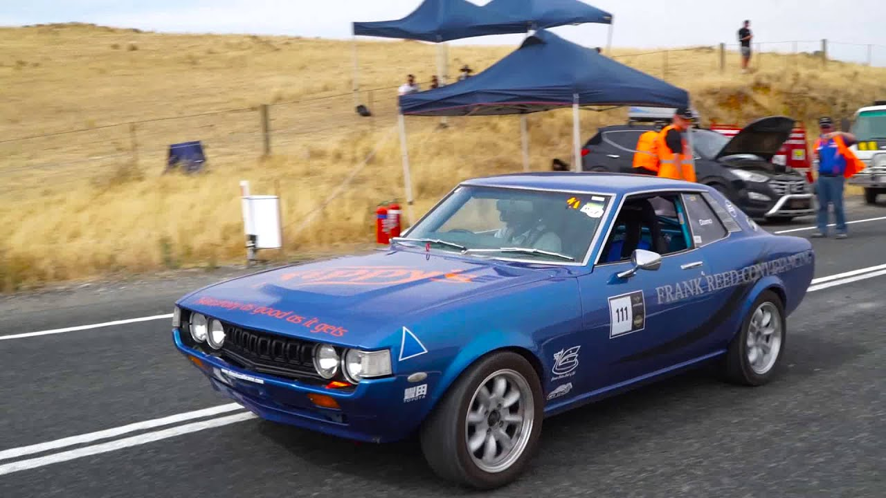 Eden Valley Hill Climb 2015 - Damian Reed, RA23 Toyota Celica PURE