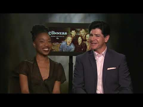 Michael Fishman, Maya Lynne Robinson on 'The Conners' after Roseanne