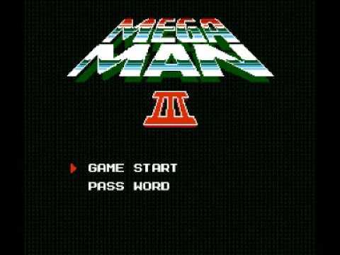 Mega Man 3 (NES) Music - Title Theme