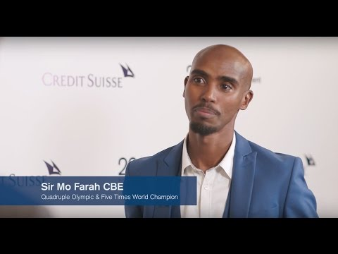 AIC 2017 Conversations: Credit Suisse's John Knox speaks with Olympic champion, Sir Mo Farah CBE