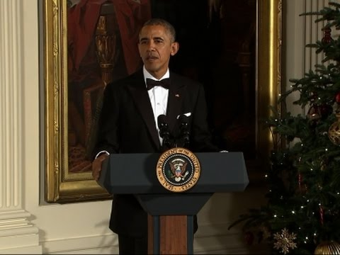 Obama Joins his Final Kennedy Center Honors Gala