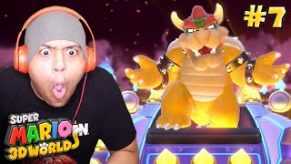 I DON'T REMEMBER BOWSER BEING THIS HARD!! PAUSE! [SUPER MARIO 3D WORLD] [#07]