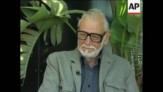 George Romero, whose classic 'Night of the Living Dead' and other horror films turned zombie movies