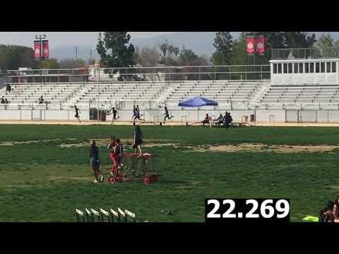 Boys Varsity 400m-Cleveland vs. El Camino Real Dual Meet 4/5/18 (Res for Cavs in Desc)