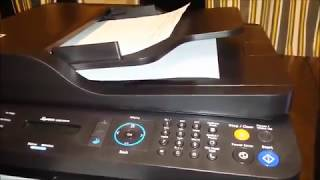 Samsung Xpress SL M2070FW printer unboxing and setup