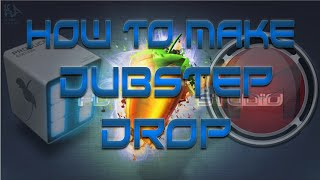 part 1 fl studio tutorial how to make a dubstep drop 7 1 2