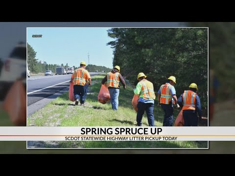 SCDOT Spring Spruce Up brings awareness to fighting litter, statewide