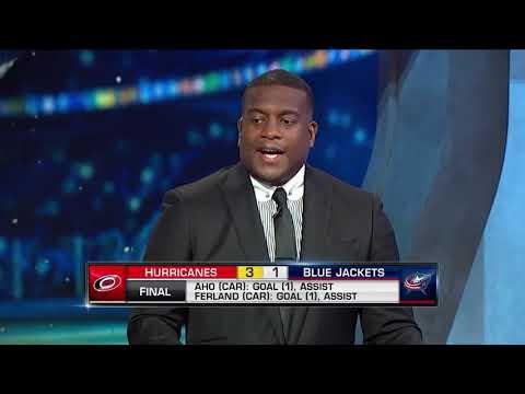 NHL Tonight:  Hurricanes` win:  NHL Tonight recaps Carolina`s victory over Columbus  Oct 5,  2018