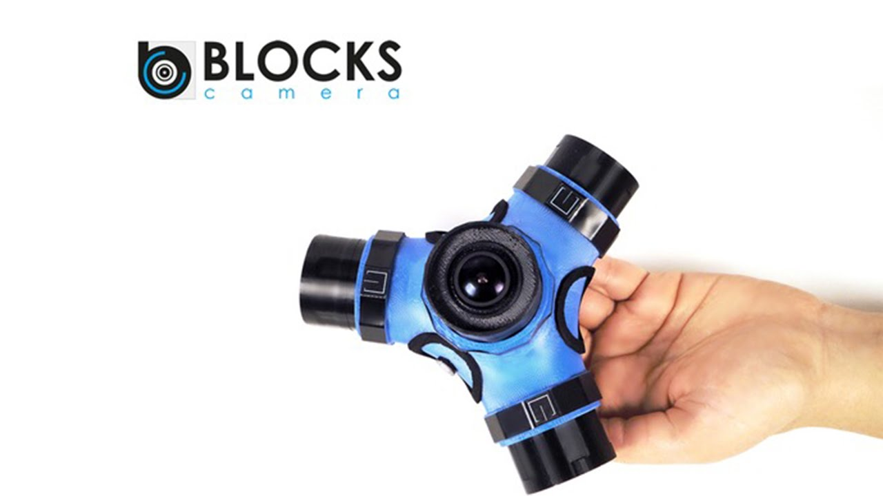 Blocks Camera: Máy quay phim, chụp ảnh đa năng mạnh mẽ (360 độ, 3D)