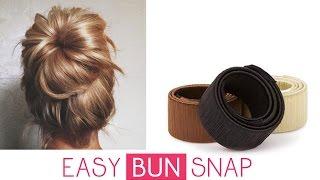 Chignon Facile & Rapide - Easy Bun' Snap