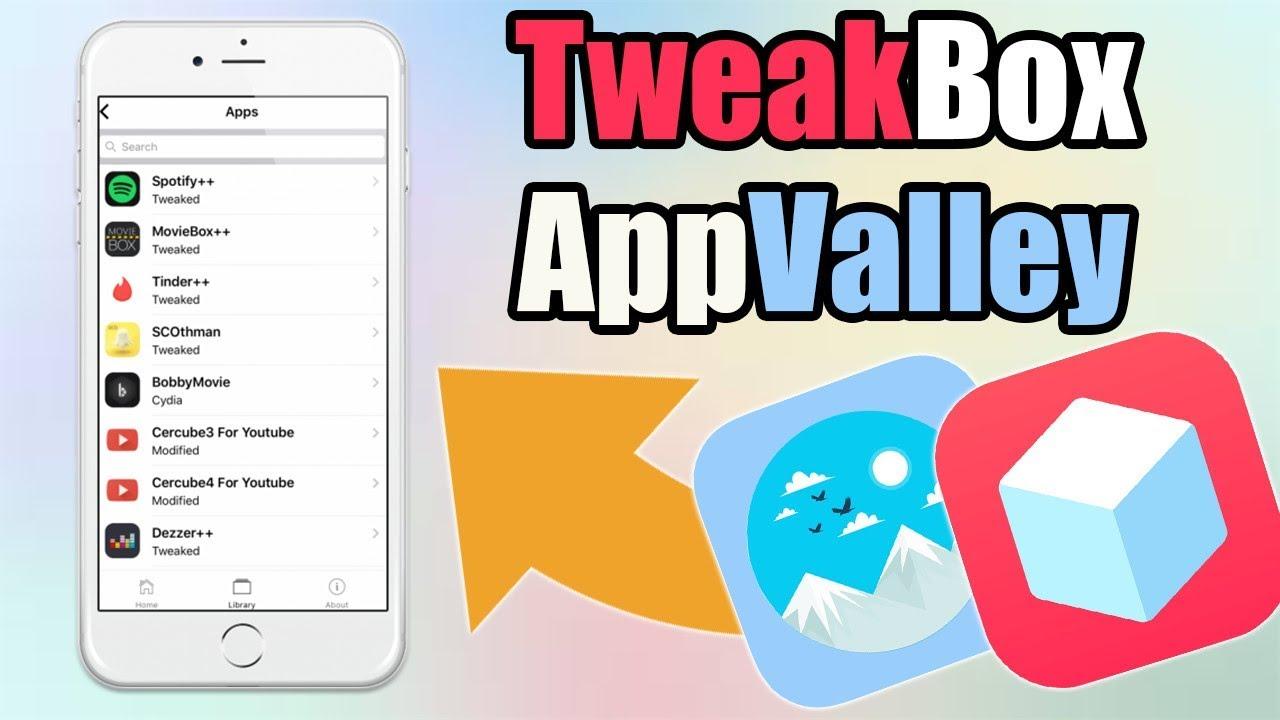 How To Get TWEAKBOX & APPVALLEY On iOS 9 / 10 / 11 / 12 (NO JAILBREAK)  (BEST TWEAKED APPS 2019)