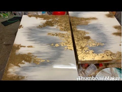 Resin Art-Epoxy painting_on wood