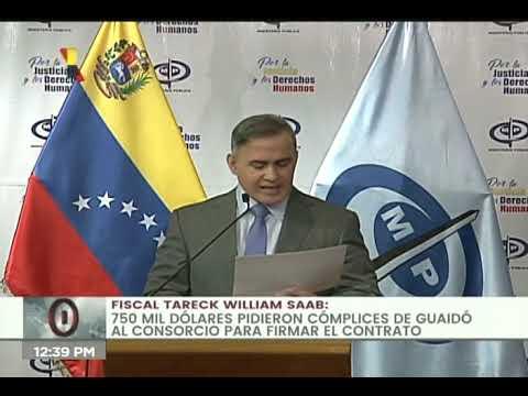 """Fiscal General: """"funcionarios"""" de Guaidó trataron de robarse bienes venezolanos en PetroCaribe"""