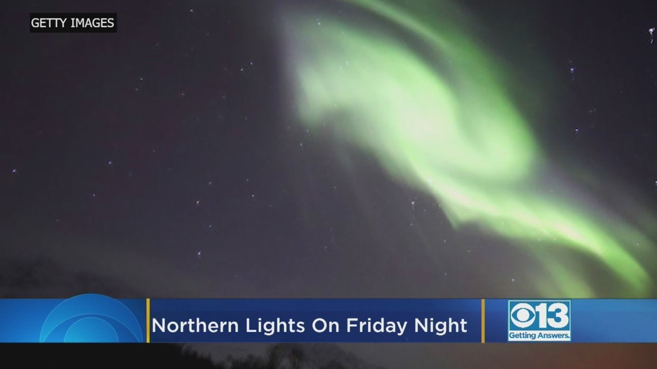 A geostorm will give residents in the Northern US and Canada a rare chance to see the aurora borealis