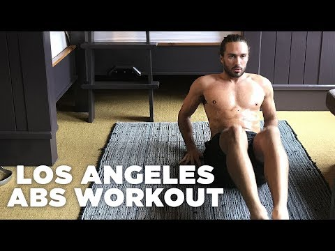 10 Minute Abs Blaster | The Body Coach x Hostelworld