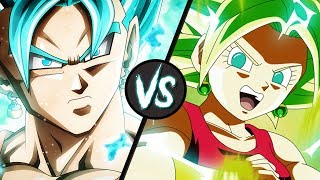 Vegito Blue VS Super Saiyan 2 Kefla | Dragon Ball Super