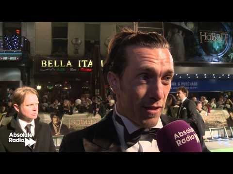 Royd Tolkien interview at The Hobbit premiere in London - 12/12/12