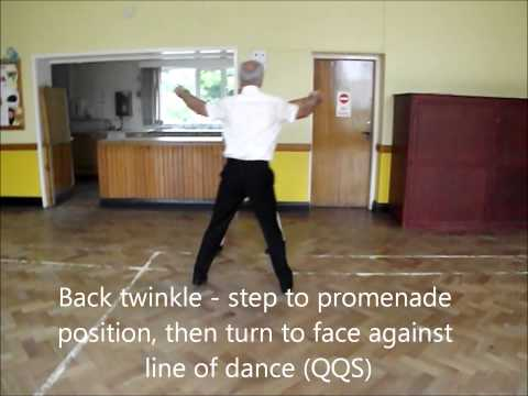 Sheldan Saunter Sequence Dance Walkthrough