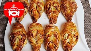 Sütlü Yaprak Poğaça Tarifi  - peynirli pogaca - pogaca tarifi - Gülsümün Sarayi