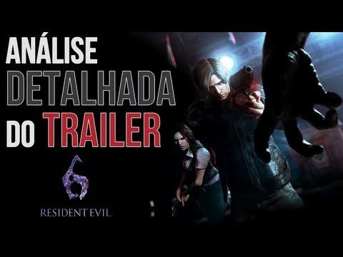 Análise completa de: Resident Evil 6 Reveal Trailer