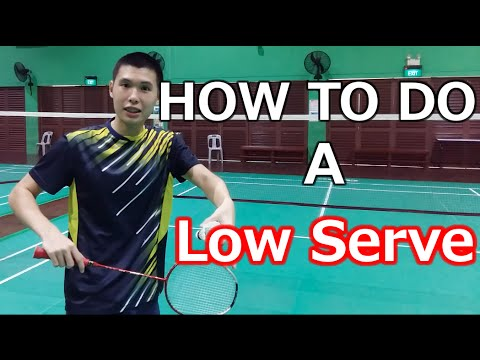 How to Do A Consistent, Backhand Low Service | BG Academy