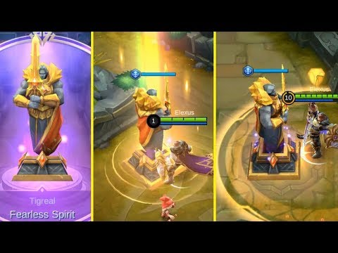 Tigreal Summon Sacred Statue (Fearless Spirit), Worth It..? - Mobile Legends thumbnail