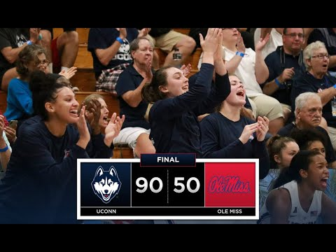 UConn Women's Basketball Highlights v. Ole Miss 11/22/2018 (Paradise Jam Tournament)