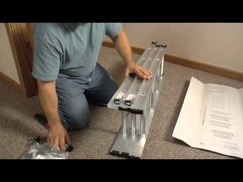 Keller Compact Attic Ladder Complete Installation Video