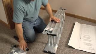 Keller - Compact Attic Ladder Complete Installation Video