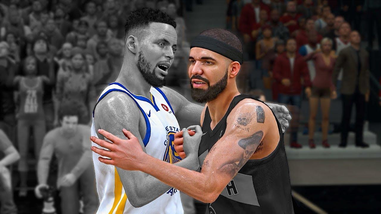 Stephen Curry vs Drake | Who's The Best Shooter? | NBA 2k18 Drake MyCareer #4