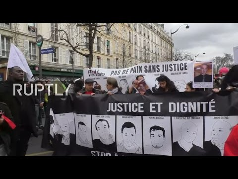 LIVE: March against police brutality and racism in Paris