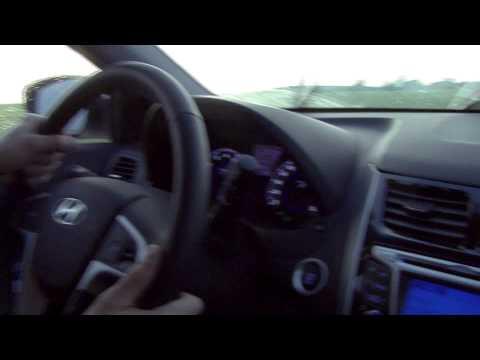 Видеотест Hyundai Solaris