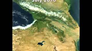 Shrinking of the Lake Urmia (1963 to 2012)