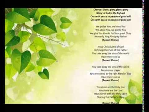 Glory Glory Church Gloria Hymn