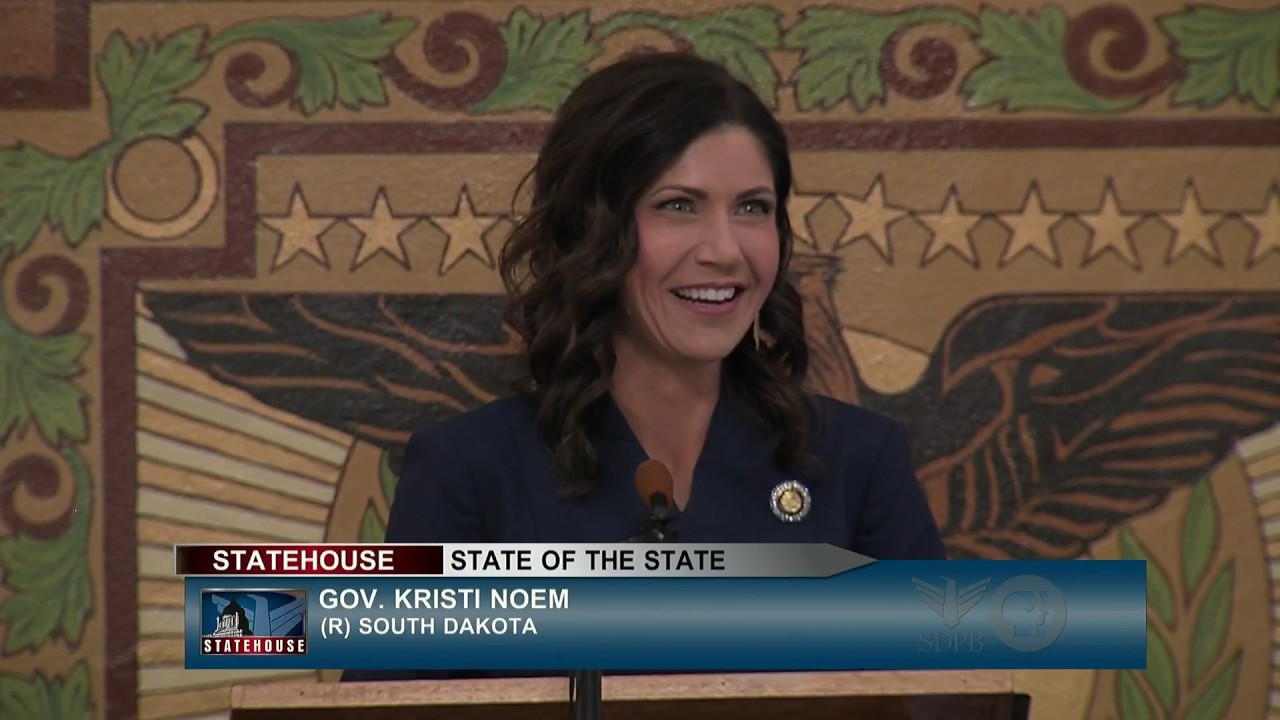 South Dakota Gov. Kristi Noem tells tribes to open roads, calls ...