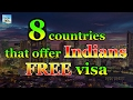 Countries that offer Indians FREE visa | Travel Nfx