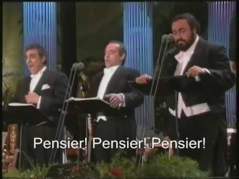 The Three Tenors - La Donna è Mobile - (Rigoletto) - 1994