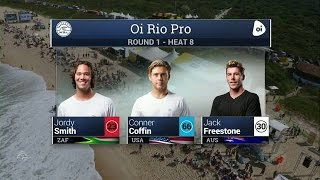2016 Oi Rio Pro: Round One, Heat 8 Video